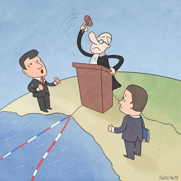 conflictos, juicios, Perú, Chile, límites, fronteras, diferendos, La Haya