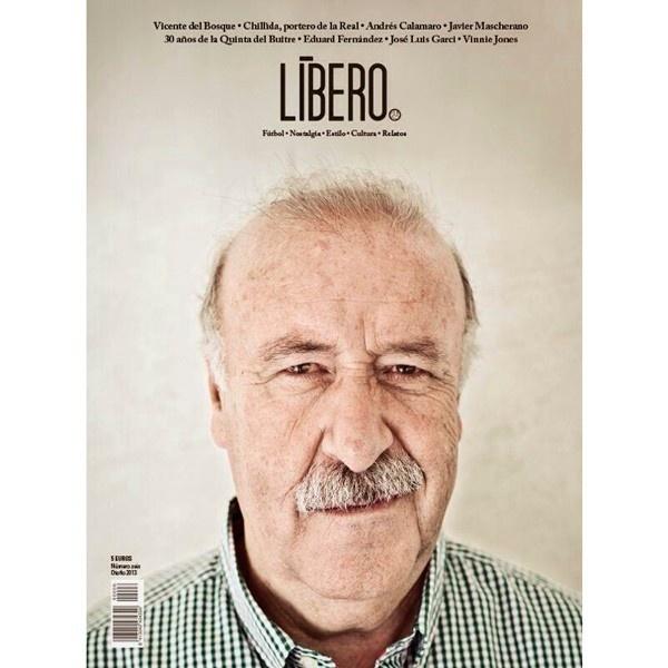 Revista Líbero, fútbol, cultura, España, campaña, publicidad
