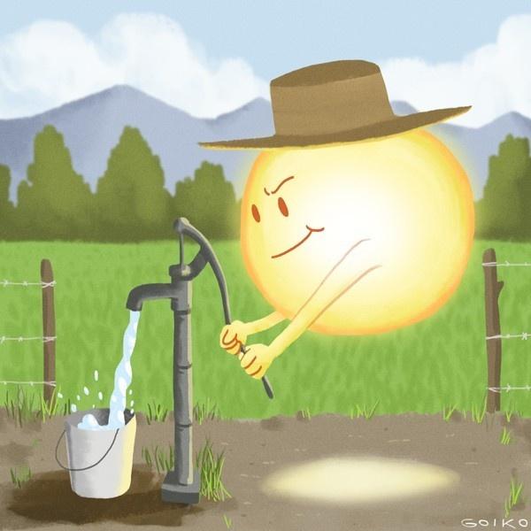 energía, renovables, medioambiente, paneles solares, fotovoltaica, solar, ecología, indap, agricultura, riego, agua, campo