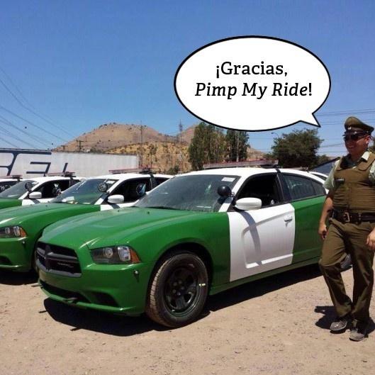 policía, carabineros, autos, dodge, charger, motores, patrullas