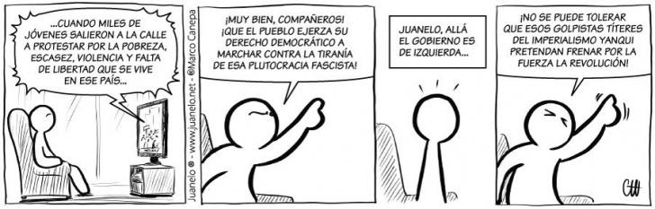 política, protestas, prejuicios, ambigüedad, ideologías, marchas, Venezuela, Chavez, Maduro, revolución, socialismo, comunismo, incoherencia