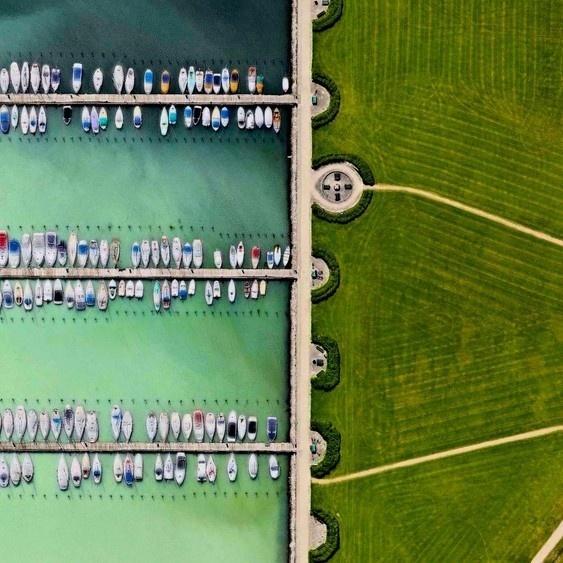 fotos, imágenes, visión general, perspectiva, satélite, altura, Daily Overview