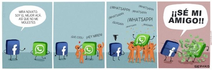 Tecnología, Internet, Celulares, Whatsapp, Facebook, Compra