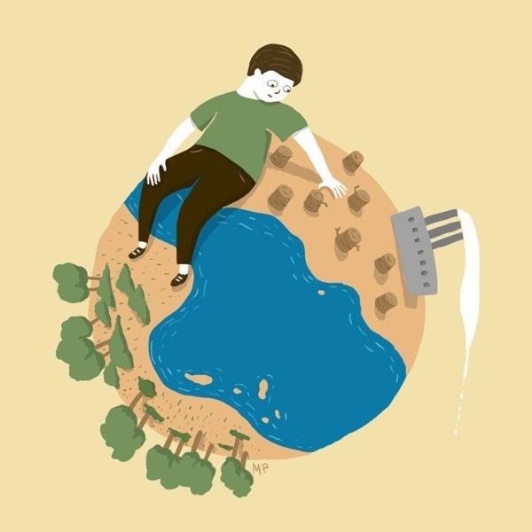 Ética ambiental, ser humano, libro,