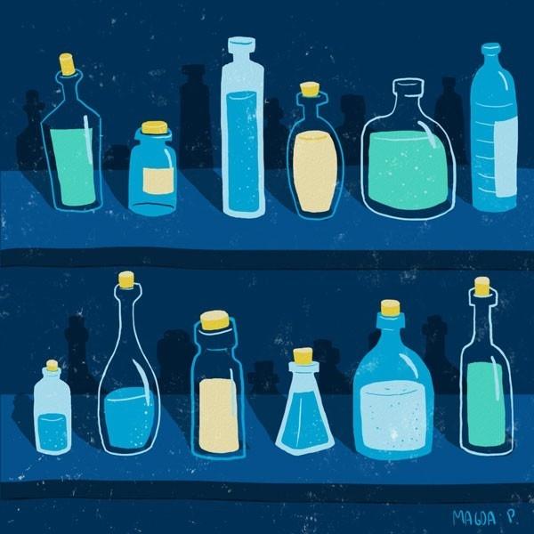 alimentación, líquidos, comida, agua, natural, agua