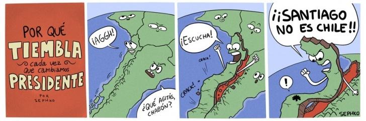 Temblor, Chile, Presidente, Centralismo, Regiones, Sismo