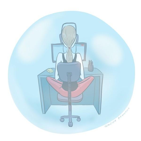 concentración, oficina, produvctividad, ruidos, estrategias, trabajo