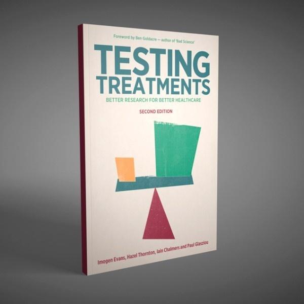 Médicos, libro, Testing Treatments, pacientes, estudios, información