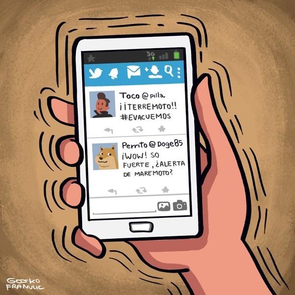 terremoto, emergencias, celulares, conectividad, telecomunicaciones, señal, llamadas, mensajes, SMS, 3G, comunicación