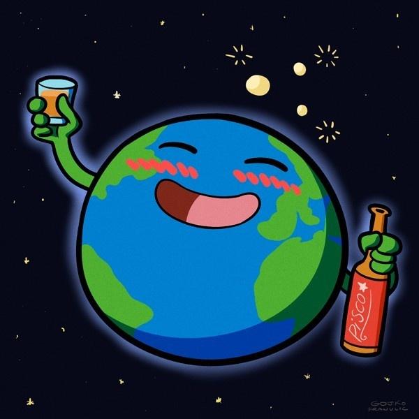 Licor, alcohol, culturas, mundo, beber, exótico