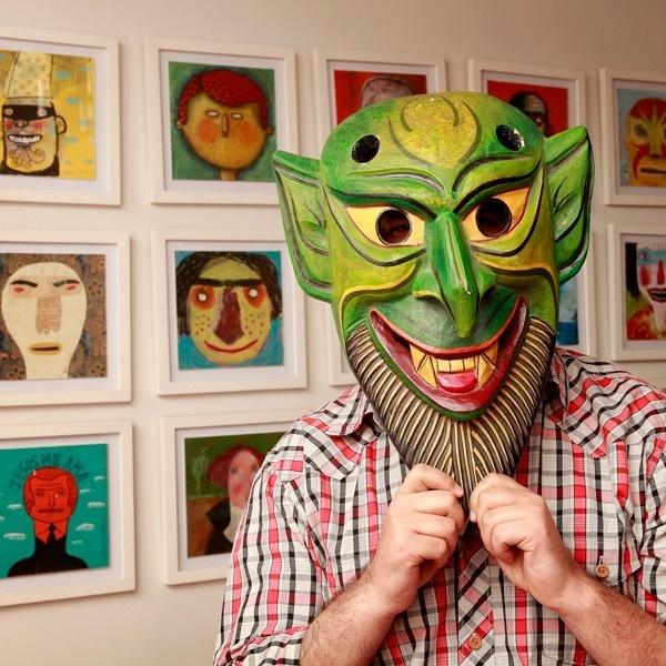 Alberto Montt, ilustrador, humor gráfico, dosis diarias, chistes, libros, imagen