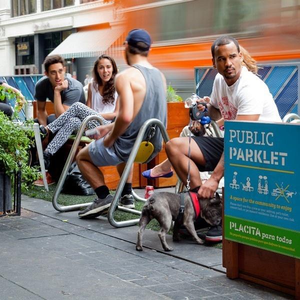 los angeles, estados unidos, parklets, plazas, espacios públicos,áreas verdes, la, people st