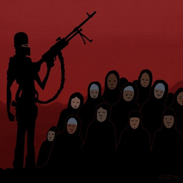 boko haram, islam, musulmanes, nigeria, niñas, secuestradas, áfrica, sharia