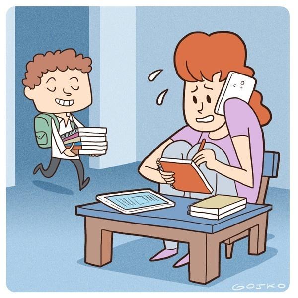 educación, colegio, tareas, deberes, trabajo, responsabilidad, autonomía