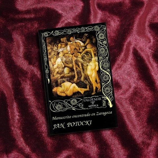 libros, literatura, manuscrito encontrado en Zaragoza, Jan Potocki, Secreter, textos