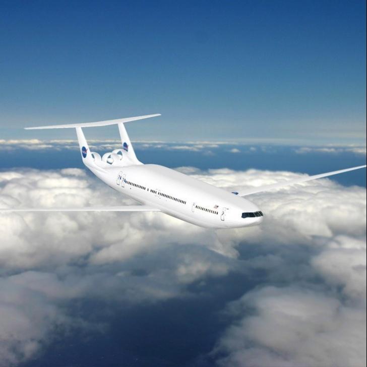 aviones, aerolíneas, aeronaves, tráfico aéreo, eficiencia, energía, combustibles, vuelos, futurismo, futuro, NASA, MIT
