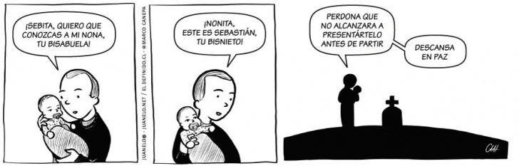 bebes, nacimientos, niños, Can, abuelos, abuela, nona, muerte, fallecimientos, guaguas, hijos