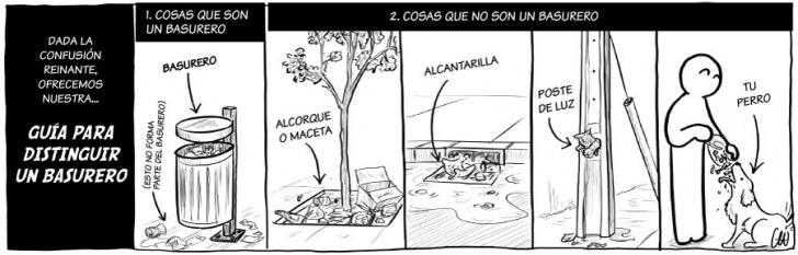 basura, basureros, cultura, ciudad, urbanismo, civilidad, educación, mugre, contaminación, incultura, perro, Andaluz