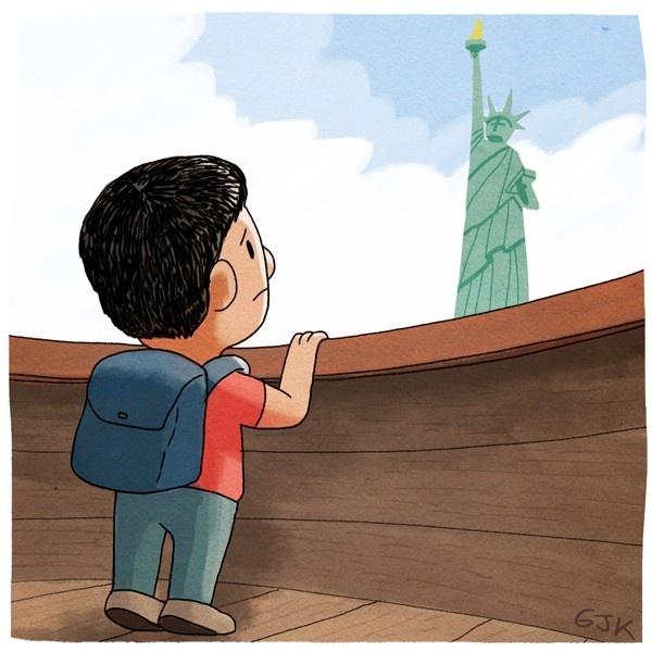 inmigrantes, migrantes, ilegales, estados unidos, nueva york, gran manzana, arizona, ley, inmigración, hondura, méxico, el salvador, frontera