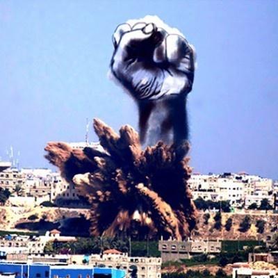 palestina, israel, gaza, conflictos, guerra, judíos, árabes, hamas, arte, expresión, bombas, humo, creaciones
