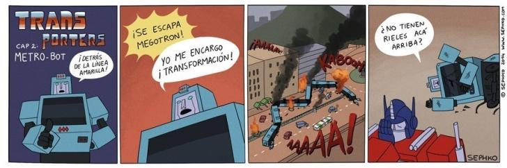 transporte publico, ciudad, santiago, transantiago, transformers, 1980, dibujos animados