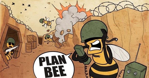 abejas, plan bee, colmena, los molles, flores, reforestación, polinización