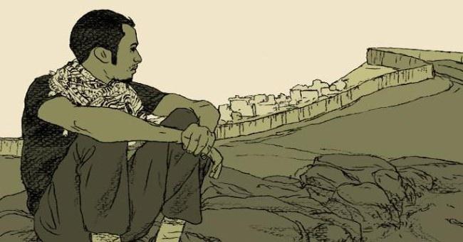 comics, ilustración, periodismo gráfico, humor gráfico, Gaza, Palestina, Israel, Intifada, conflictos, guerras