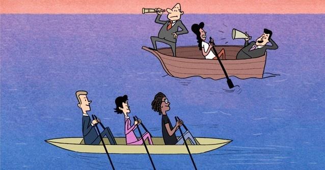 Empresas, horizontalidad, buenas prácticas, empleados felices, diversidad, poder, jerarquía, futuro