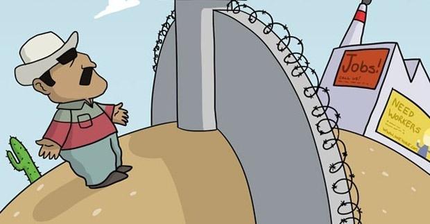 inmigración, eeuu, pobreza, fronteras, open borders