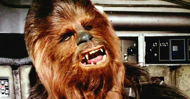 chewbacca, chewie, star wars, la guerra de las galaxias, george lucas, han solo, personajes, chewy
