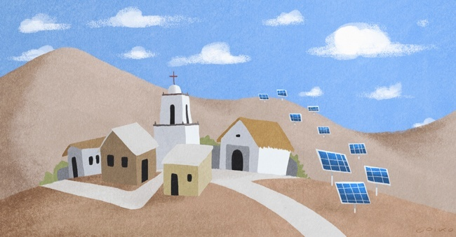 medio ambiente, sustentabilidad, energía solar, esquiña, norte, electricidad, energía, renovable