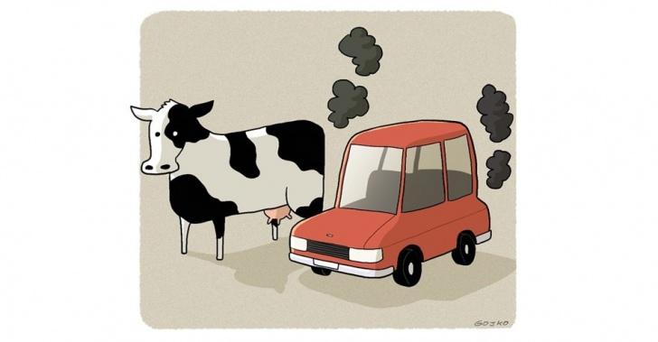 Carne, autos, contaminación, vegetarianos, alternativas, FAO