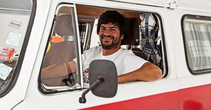 Ruta de la felicidad, censo, Alejandro Fernández, combi, Chile, recorrer, caminos, familias, viaje