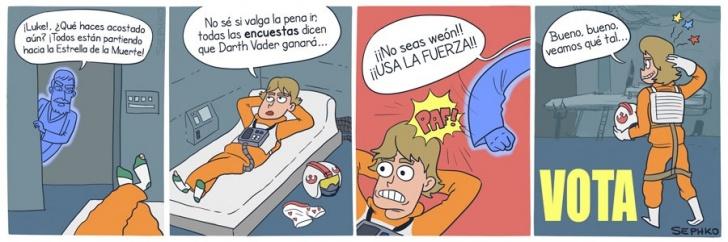 Elecciones, Presidente, Star Wars, Luke, Fuerza, Votar, Encuestas