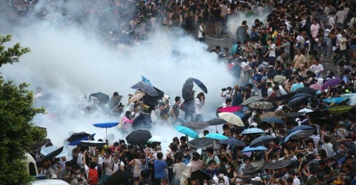 hong kong, china, protestas, manifestaciones, democracia, partido comunista