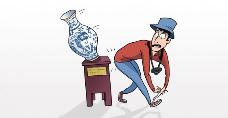 Reliquias, rotas, errores humanos, miles de dólares, pérdidas, obras de arte, antiguedades