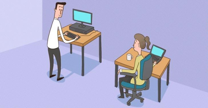 trabajo, salud, actividad física, ejercicio, jornada laboral, silla, sentarse, estar de pie, pararse