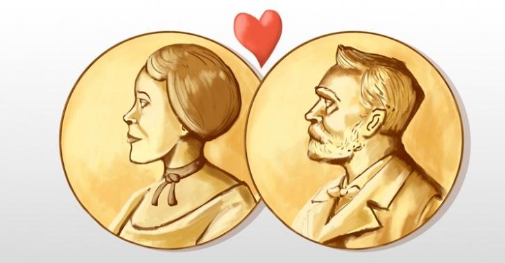 Nobel, Curie, parejas, matrimonios, 2014, premio, química, física, economía, paz