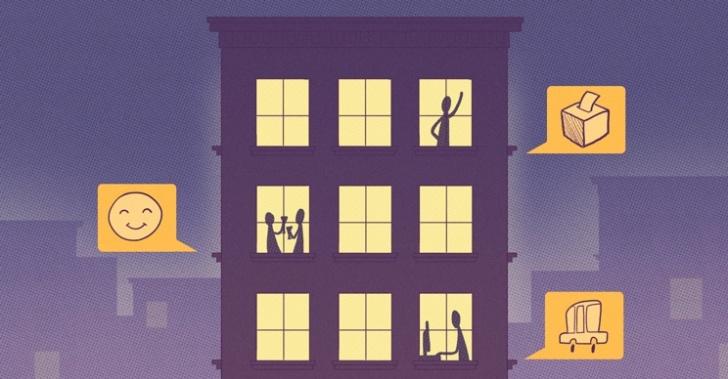edificio, departamente, vecinos, barrio, comunicación, red social, MyCoop