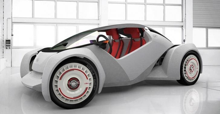 automóvil, casa, impresora 3D, tecnología, revolución industrial,