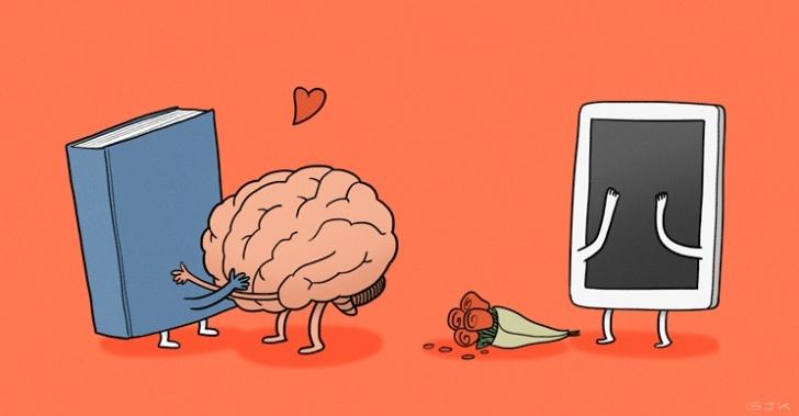 leer, lectura, libros, papel, pantalla, e-reader, papel electrónico, lectura digital, aprendizaje, memoria, concentración