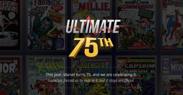 Marvel, cómic, cumpleaños, 75 años, súperheroes, series, personajes, infografía, dibujos,