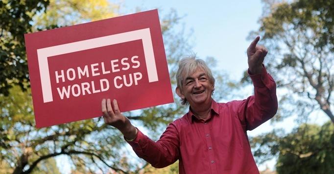 fútbol, homeless world cup, mel young, indigencia, situación de calle, pobreza, deporte