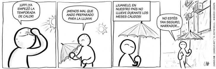 lluvia, paraguas, aire acondicionado, verano, calor, clima, gotas