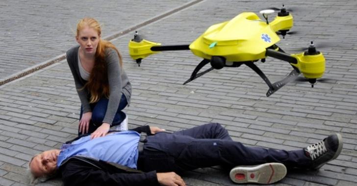 corazón, salud, ambulancia, asistencia, paro cardíaco, ataque al corazón, drone, japón, desfibrilador, tecnología