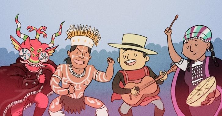 Regiones, festividades, eventos, celebraciones, panoramas, costumbristas, religiosas, Chile