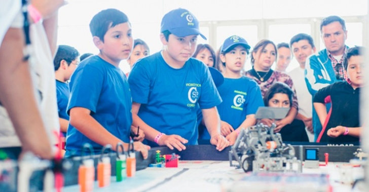 robot, Lego, niños, educación, concurso