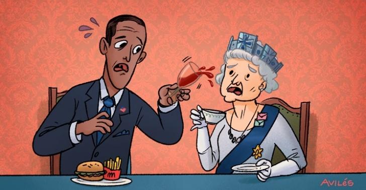 bochornos, diplomáticos, diplomacia, bill clinton, barack obama, sarkozy, encuentros, cumbres, g8, g7, boris yeltsin, netanyahu