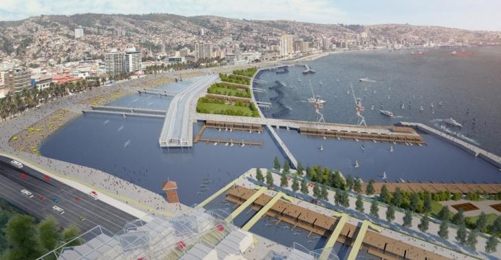 muelle, Valparaíso, áreas verdes, marina, playa, mall plaza, ideas, propuestas
