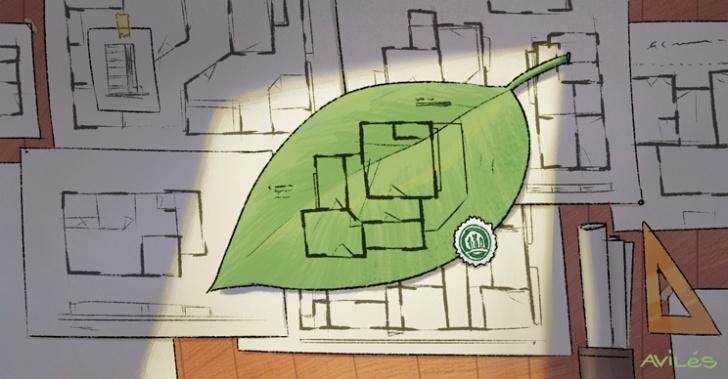 sustentabilidad, construcción, medioambiente, sello verde, certificación, LEED, CES